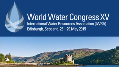 Live broadcast the WordlWater Congress